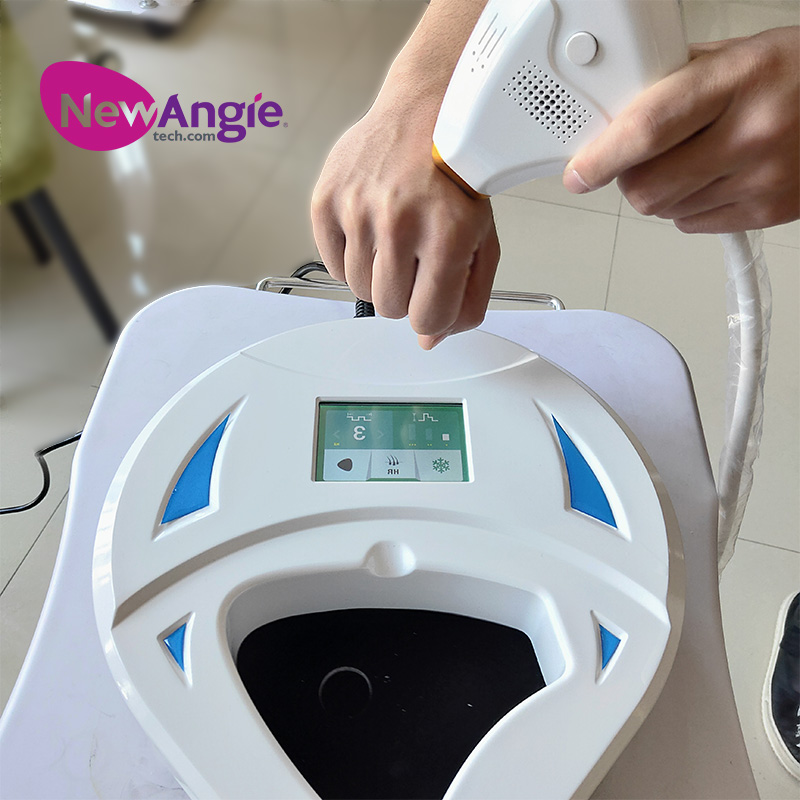 Newest Portable 808nm Diode Laser Hair Removal Machine