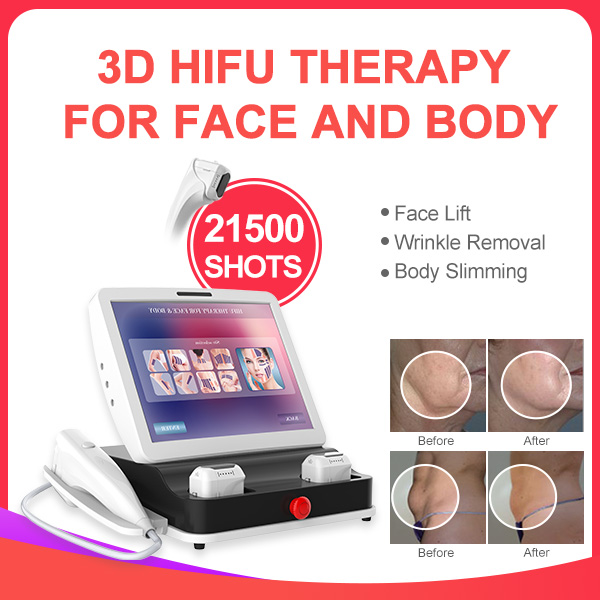2019 Newest 26000shots 11lines Adjustable Skin Tightening 3D HIFU Machine
